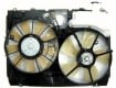 2004 Toyota Sienna Engine / Radiator Cooling Fan Assembly